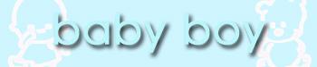 Baby boy title