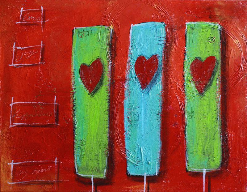 My 3 hearts
